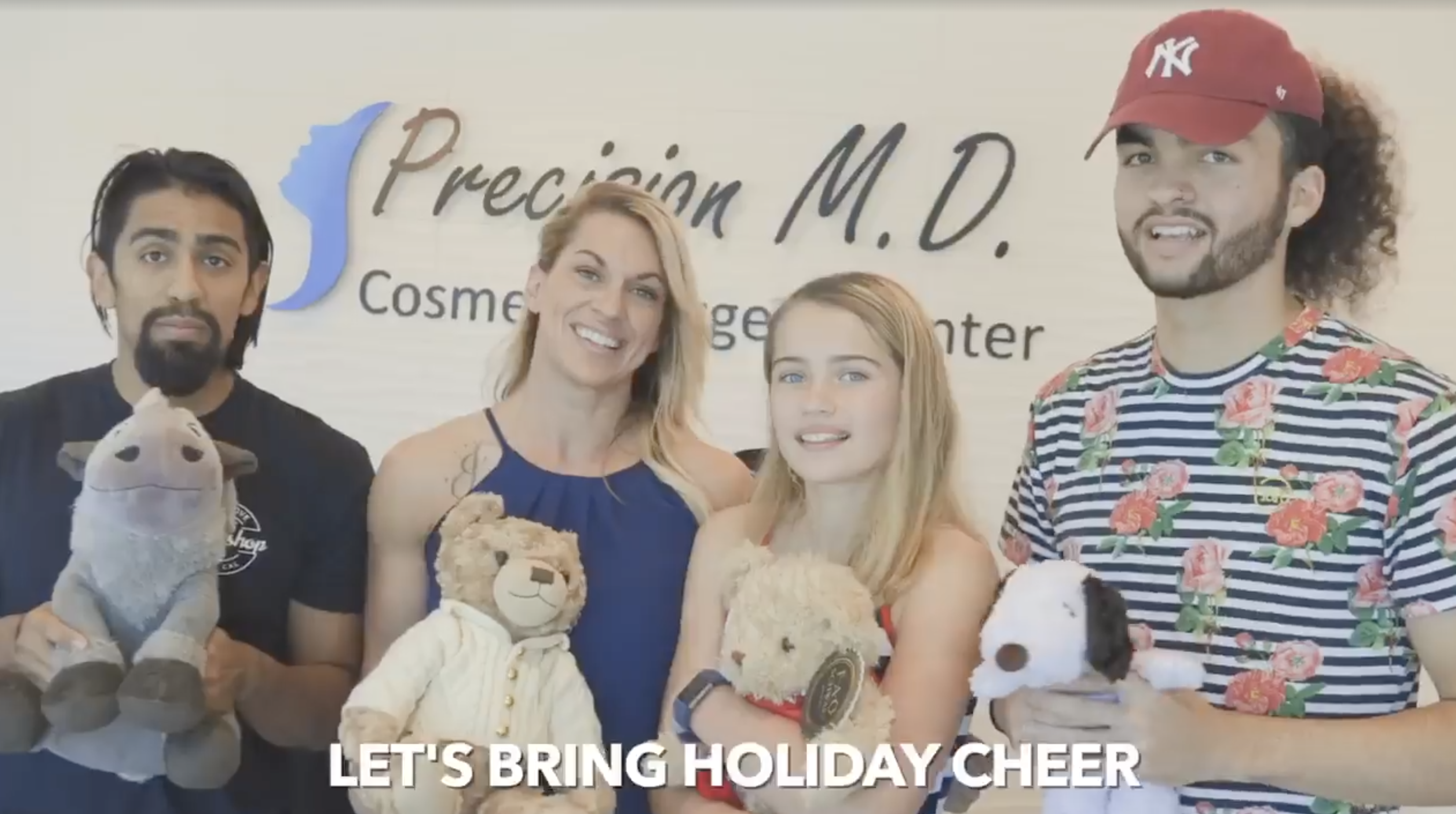 Precision M.D. Cosmetic Surgery Center TOY DRIVE! for FosterHope Sacramento